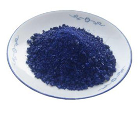 Blue edge frit