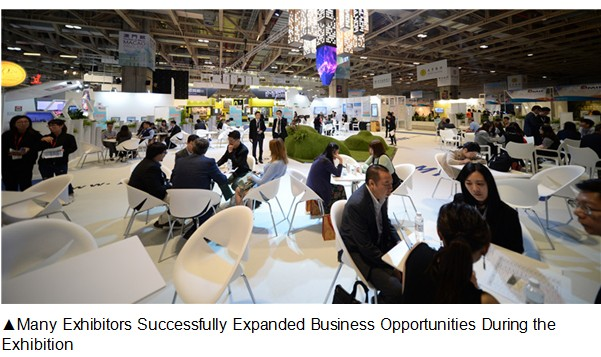Many Exhibitors Successfully Expanded Business Opportunities During the Exhibition