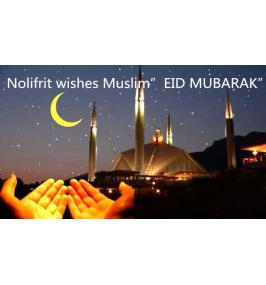 "Nolifrit wishes Muslim""EID MUBARAK"""