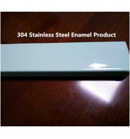 How to make stainless steel enamel?