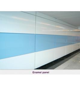 Hardness of enamel coating